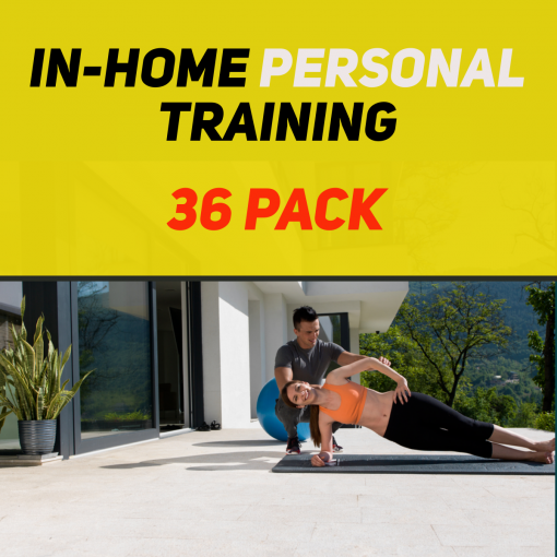 In-Home Personal Training 36 Pack