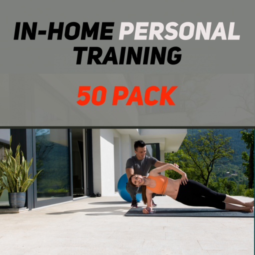 In-Home Personal Training 50 Pack